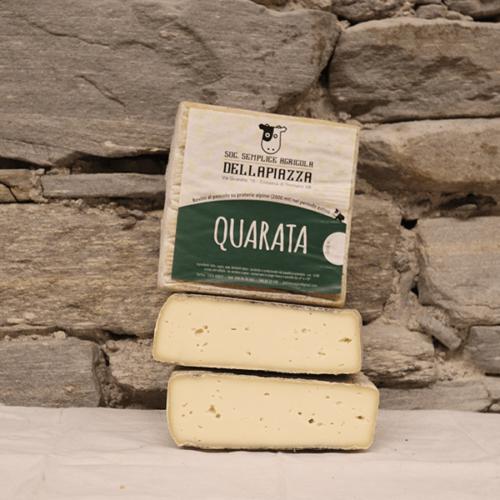 formaggio quarata